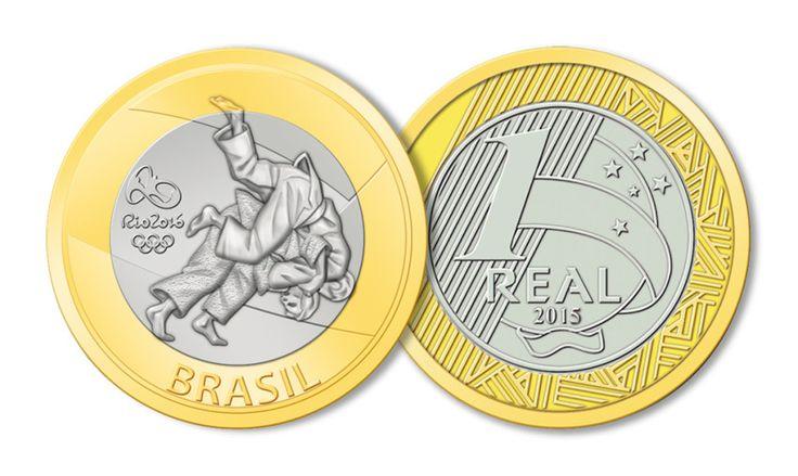 Moedas Comemorativas dos Jogos Olímpicos e Paralímpicos Rio 2016