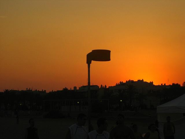 Korfbal sunset
