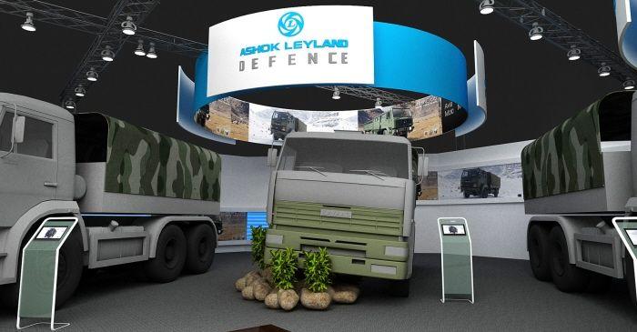 Ashok Leyland - Defence Expo by Arif Khan at Coroflot.com