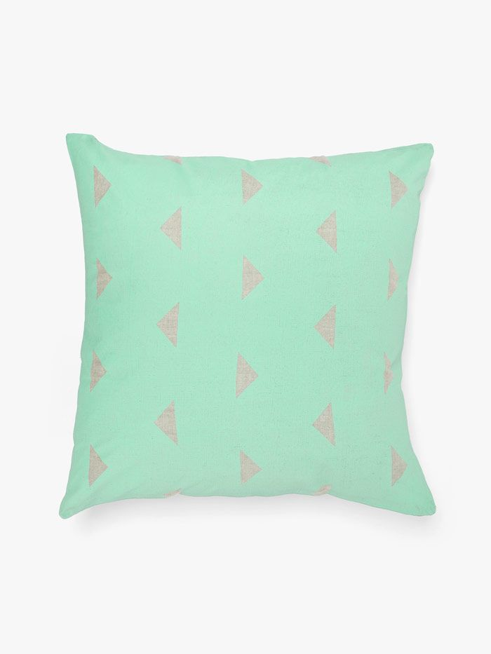 Triangles Cushion