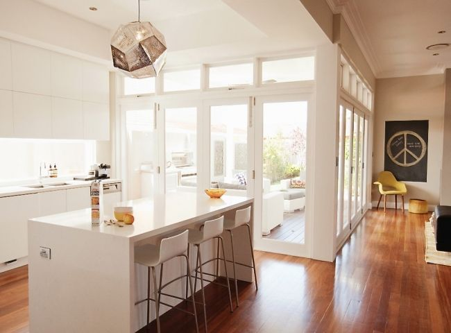 love love love these doors! The Retro Glam Californian Bungalow | House Nerd