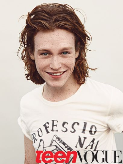 Caleb Landry Jones! Most bestest ginger with the most bestest freckles EVER!