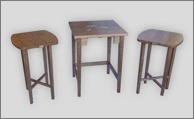 Nesting Table with V-Carve Inlay - tutorial
