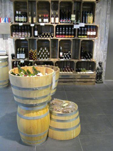 Wijnrek fruitkist