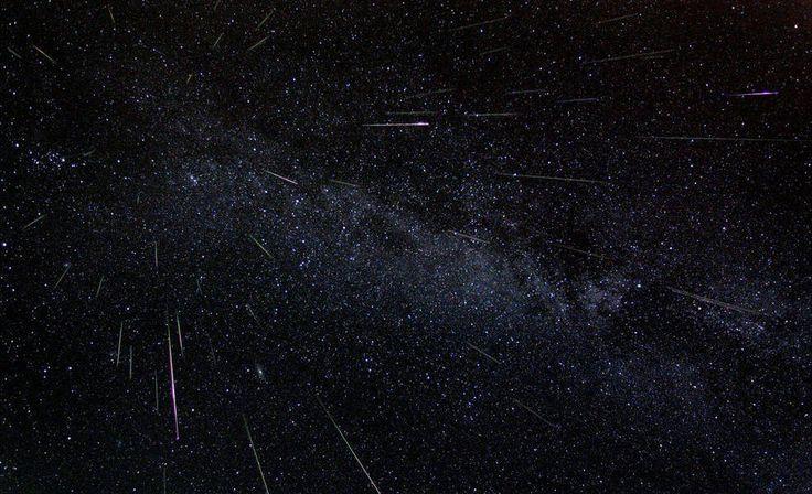 Assista a transmissão da chuva de meteoros direto da Nasa - DM