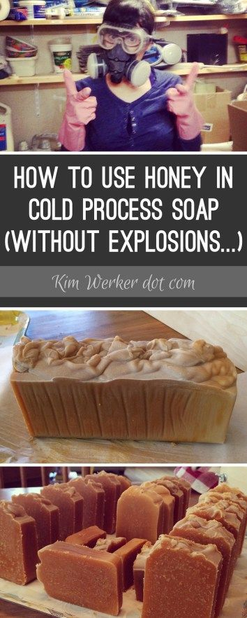 How to Use Honey in Cold Process Soap (without mishap!) – Recipe Included