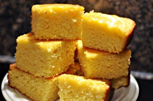 Louisiana Cornbread Cake Recipe