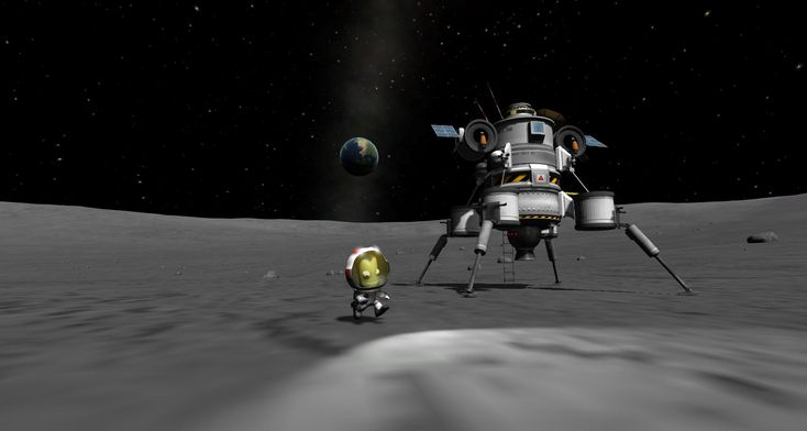 Kerbal Space Progam for out of this world action.