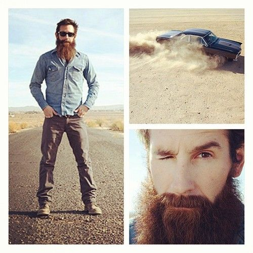 Aaron Kaufman - I really like this guy and how knowledgeable he s about all things motor-related! I wonder what he'd look like without that beard...