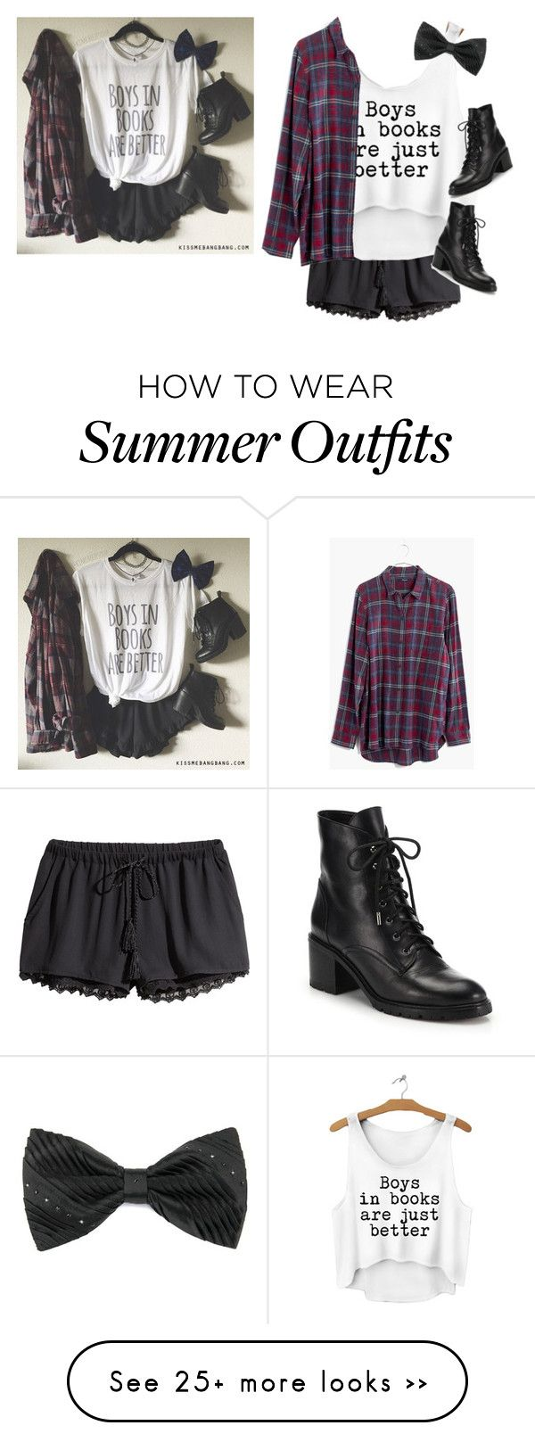"""Outfit Inspiration #1"" by neb1211 on Polyvore featuring H&M, Madewell and Joie"