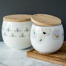 Minimalist Scandinavian Style Ceramic Canister
