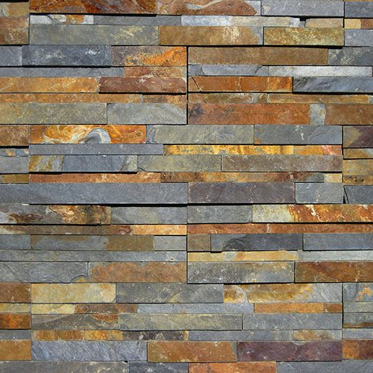 Grey Slate Kitchen Wall Tiles: China Autumn Wall Stone This Chinese Slate Has A Dark Grey