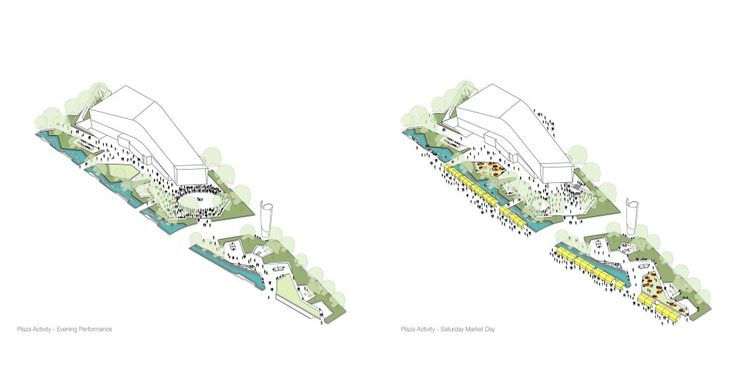 Landscape Architects: ASPECT Studios  Location: Green Square, Sydney, NSW, Australia  Architects and Lead Consultant: John Wardle Architects  Artist: Dani Marti  Client: John Wardle Architects for the City of Sydney Council  Scope: Competition  Year: 2013