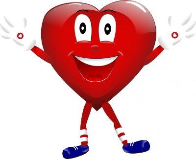 the hearty character for the heart and stroke foundation
