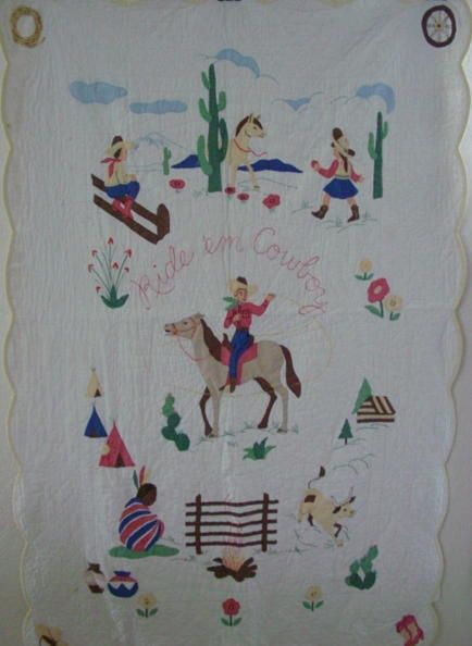 158 Best Cowboy Quilts And Such Images On Pinterest