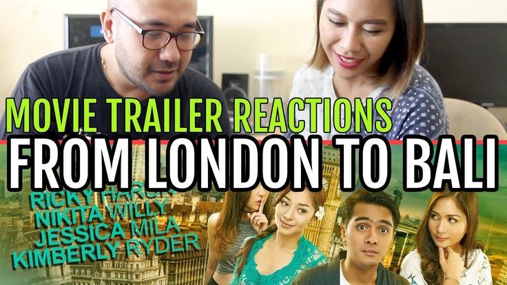 From London To Bali Movie Trailer Reactions - KOCAK!!