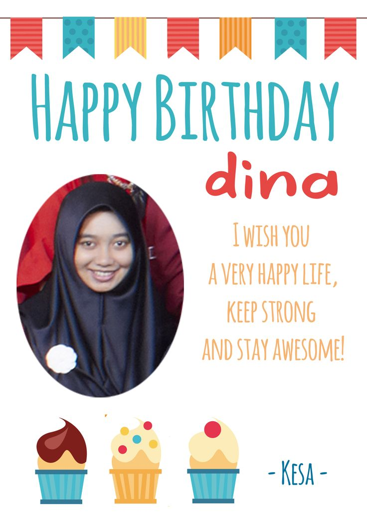 Happy Birthday Dina! :)