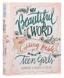 Buy NIV Beautiful Word Coloring Bible For Teen Girls Online - NIV Beautiful Word Coloring Bible For Teen Girls Hardback: ID 9780310447221