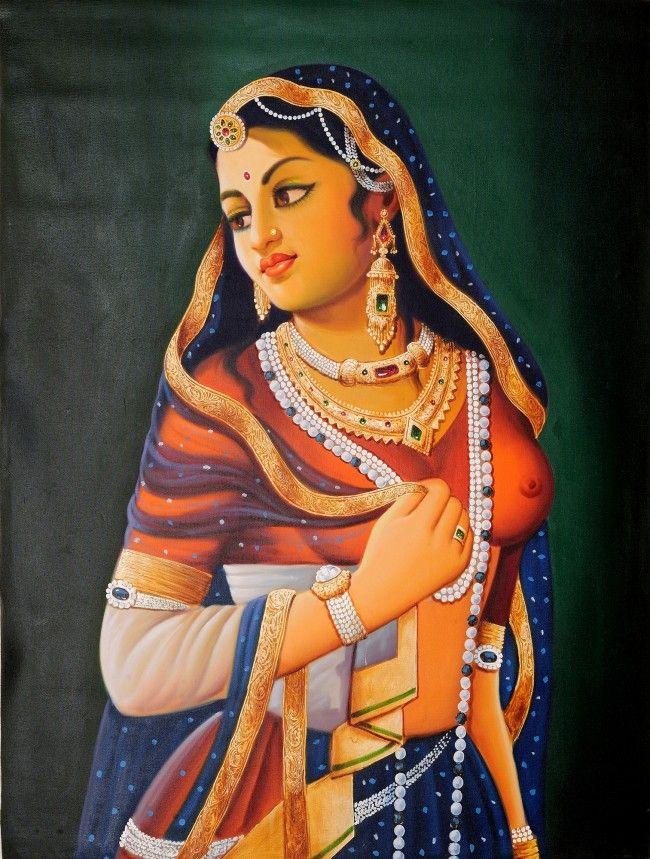 Portrait of a Royal Lady