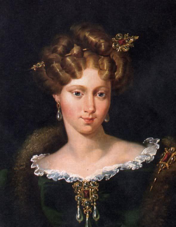1830s hair arrow