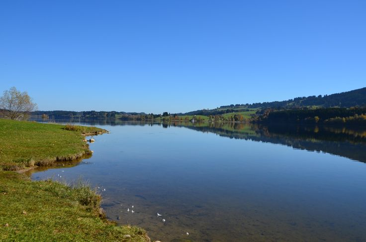 Der #Rottachspeicher zählt mit seiner Länge von 4,8 km zu einem der größeren #Seen im #Allgäu und bietet wunderbare #Naturimpressionen. Der #Stausee lässt sich gut zu Fuß und auch mit dem Rad umwandern bzw. umfahren.