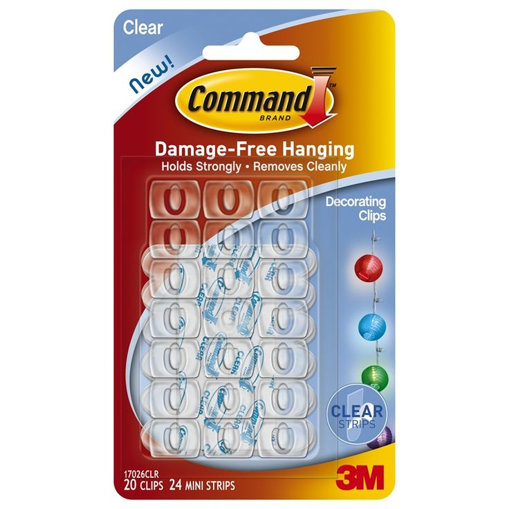 Find Command Clear Decorating Clips - 20 Pack at Bunnings Warehouse. Visit your local store for the widest range of building & hardware products.