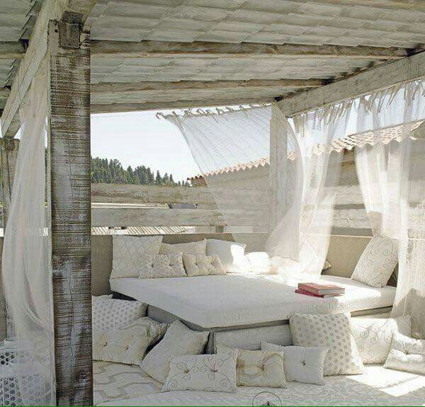 Bedouin tent patio ♡