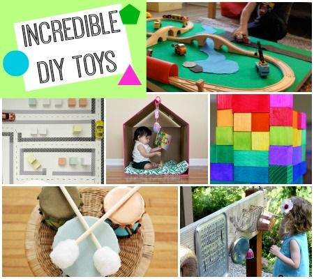 "30+ AMAZING toys and ""big ticket"" Christmas gifts you can MAKE for your little one! #creativemamas"