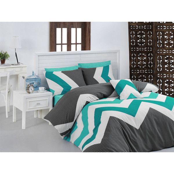 Lenjerie de pat cu cearșaf Kendy, 200x220 cm