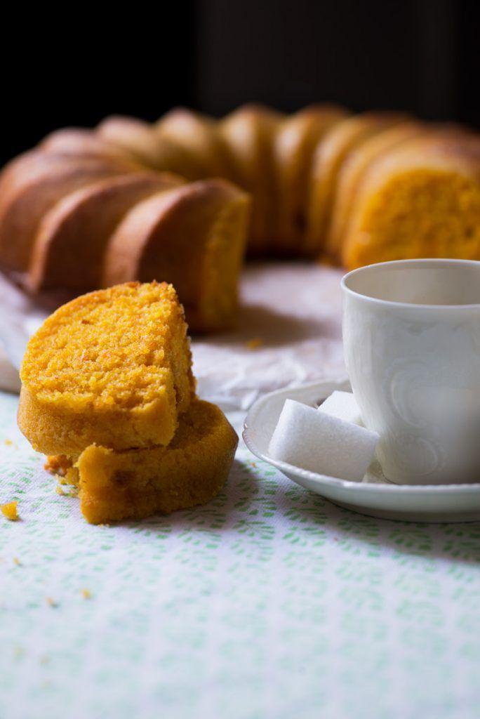 TORTA CAROTE E ZENZERO, SENZA BURRO, CON LATTE DI MANDORLA | Carrot cake and ginger, no butter, with almond milk