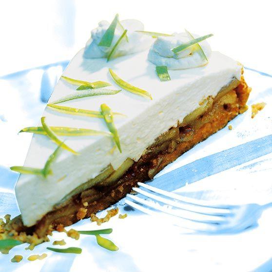 Æble-Cheesecake - Opskrifter