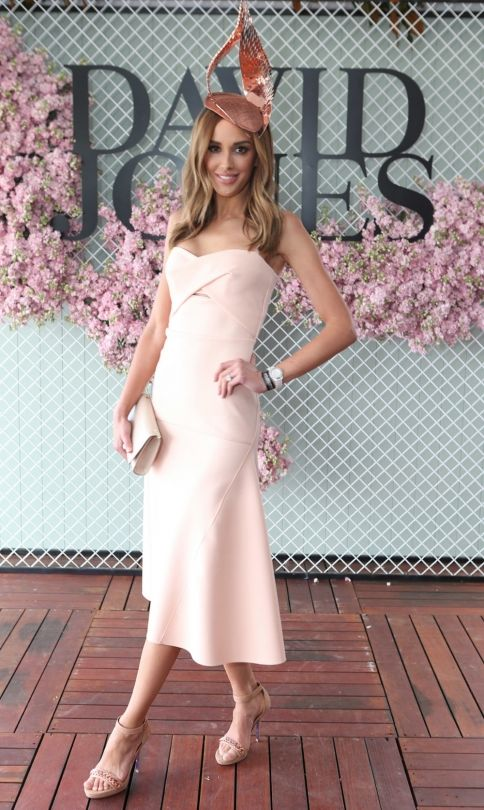 Caulfield Cup 2015: Rebecca Judd at the David Jones marquee