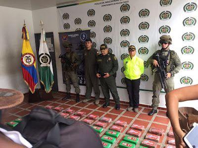 FAC y Policía Nacional incautaron más de 800 kilos de cocaína en Chocó