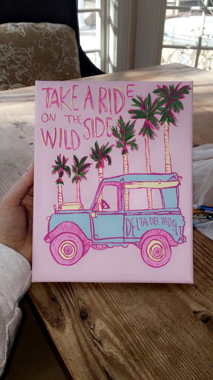 Zeta Tau Alpha Wall Decor : Best dorm canvas art ideas on city style