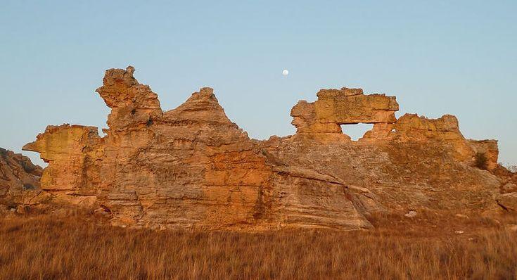 Fenêtre de l'Isalo, Madagascar