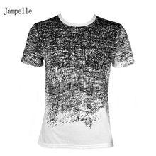 2017 Nueva camiseta del hombre Ropa de Verano Tee shirt Camisetas Para Hombre de algodón de Manga Corta camiseta de Los Hombres Masculinos camisetas Envío de La Gota gratis