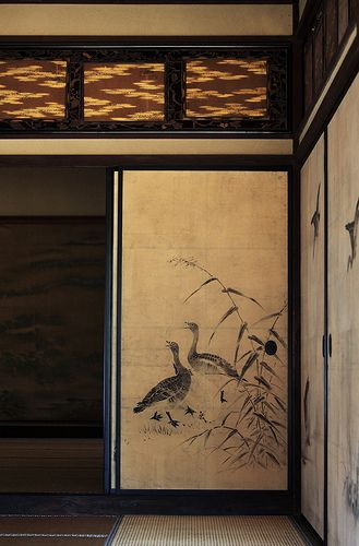 Japanese traditional style house interior design / 和風建築(わふうけんちく) (by TANAKA Juuyoh (田中十洋))