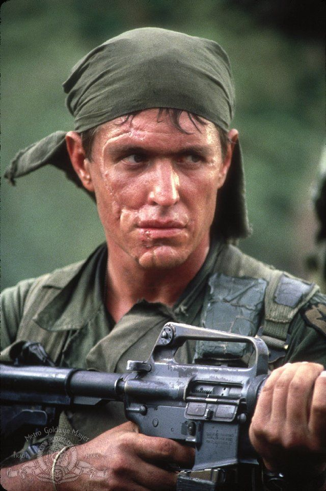 Tom Berenger as Sgt. Barnes (Platoon)