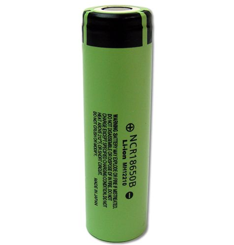 This is genuine Panasonic 18650 Li-ion 3400mAh Flat Top Lithium Battery. Made in Japan. These batteries offer High Discharge and work great under high loads.