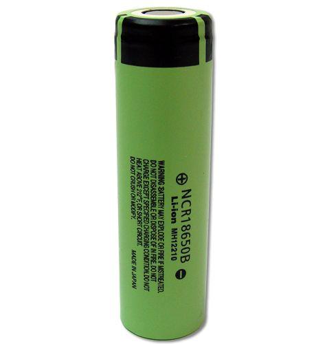 Show details for Panasonic 18650 Li-ion 3400mAh Flat Top Lithium Battery