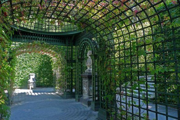 Linderhof Palace Gardens Bavaria Pergola Pergola Bavaria Buiten