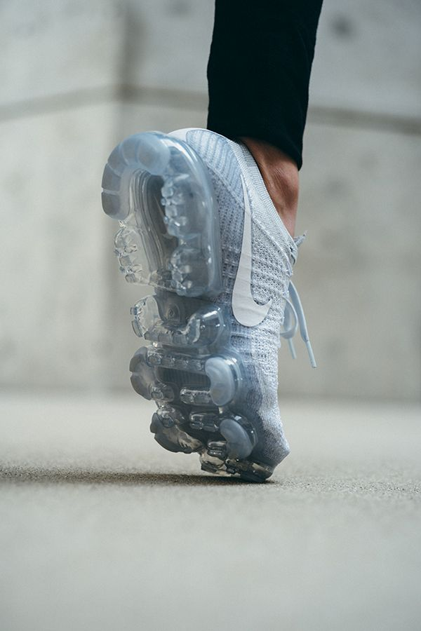 REVOLUTION // The NikeWomen Air VaporMax reignites the Air revolution with clear flexible cushioning and a lightweight Flyknit upper.