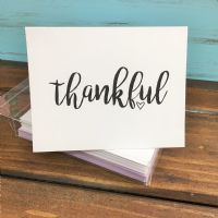 Simple one word folded notes - note cards  great end of the year teacher gift, graduation notes, bride to be, or just a simple sweet gift to make someone smile!