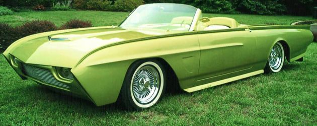 Foose Thunderbird. Pimpin'. I would love to have Foose do something to my car!