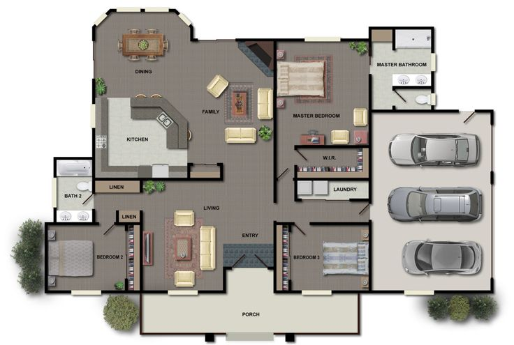 Architectures: Floor Plans House Home Wooden Tiles Ceramic Decor Interior Furniture Kitchen Bathroom Bedroom Living Room Log Cabin Garage Site Plan Garden Exterior Map Color Architecture Modern Chair Sofa Couch Table Bed Wall Renderings: 10 Tips To Pick A True Floor Plans For Your Modern House