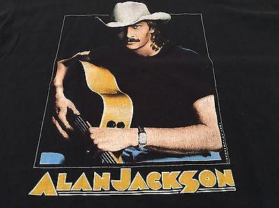 Alan Jackson Country Music Don't Rock The Jukebox 1991 Screen Stars Shirt XXL