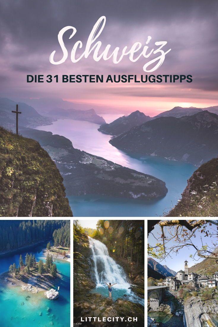 48 wunderschöne Ausflugstipps in der Schweiz