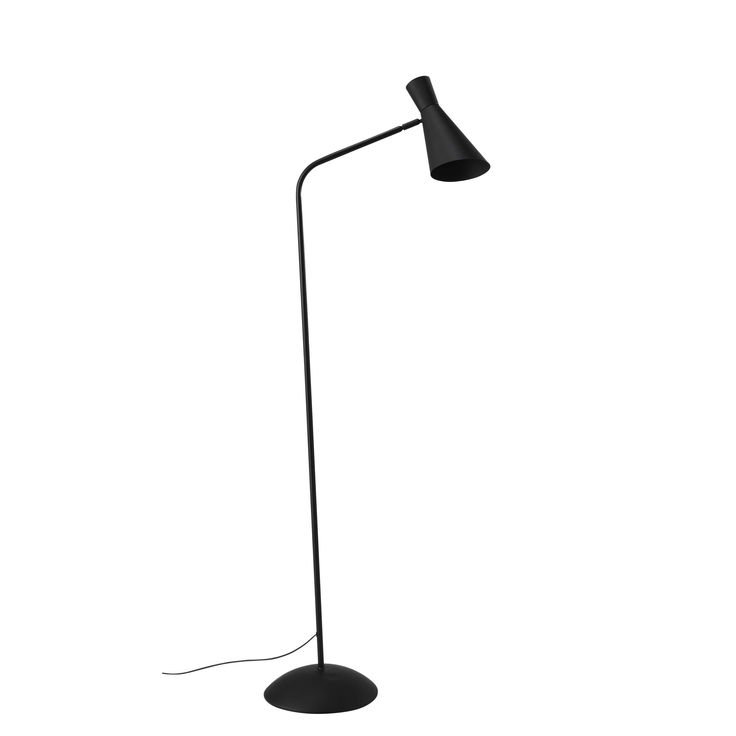 Lampadaire en métal noir H 153 cm HARRIS | Maisons du Monde