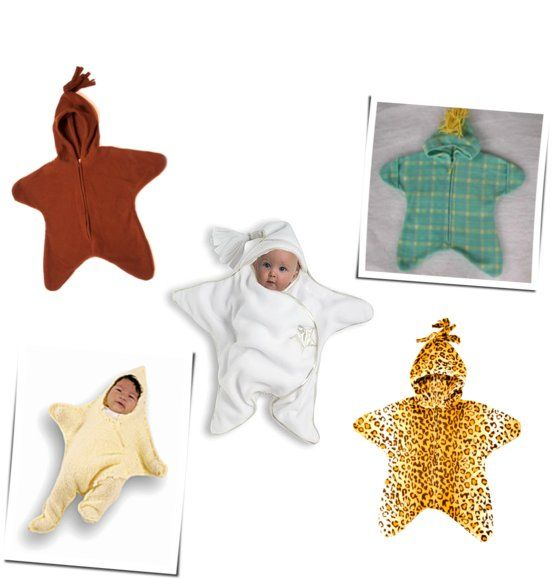 Fleece Star Shaped Bunting For Baby How Easy And Cute Would That Be