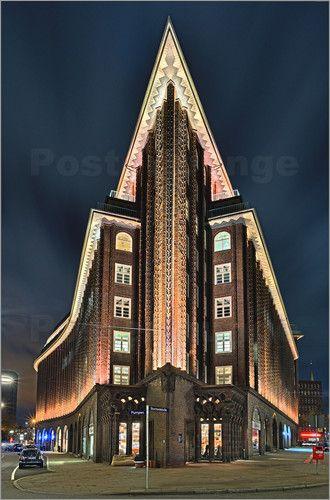 """Bild von Fine Art Images - """"Chile Haus Hamburg"""""""